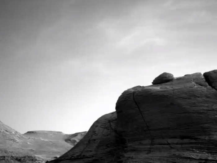 मंगल पर बादल