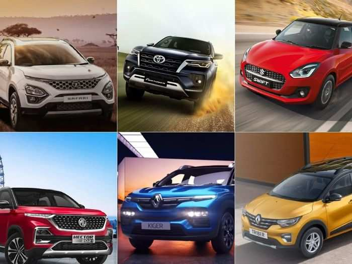 this holi from 2021 maruti suzuki swift to 2021 renault triber to renault kiger to 2021 tata safari here are six latest cars that you may like