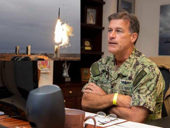 US Navy admiral john aquilino