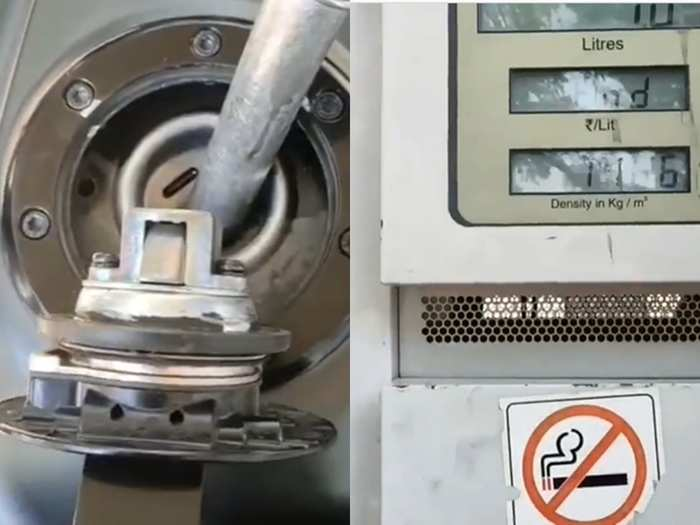 Petrol Pump viral video