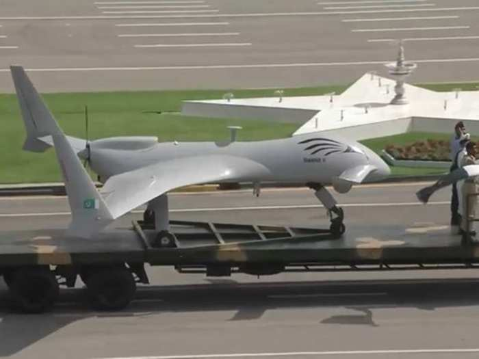 pakistan gids shahpar ii surveillance drone unveiled at pakistan day parade, know all specifications here