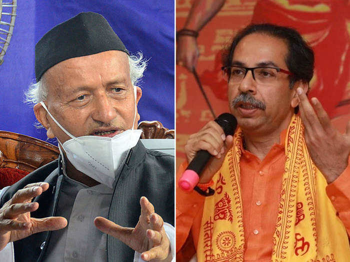Uddhav Thackeray and Governor