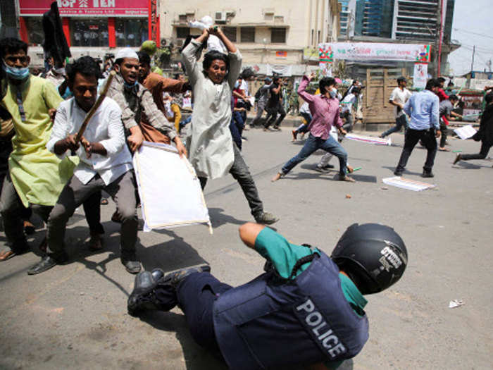 bangladesh modi protest