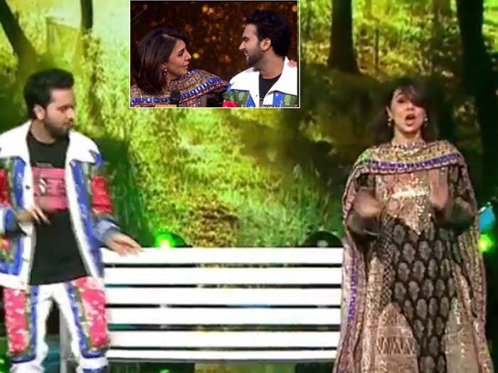 Neetu Kapoor perform on Indian Idol 12 stage