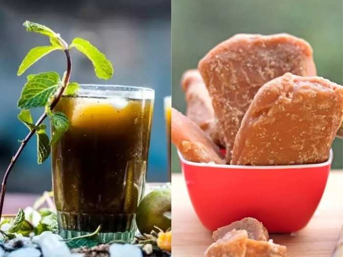 benefits of drinking jaggery and lemon water for weight loss in marathi