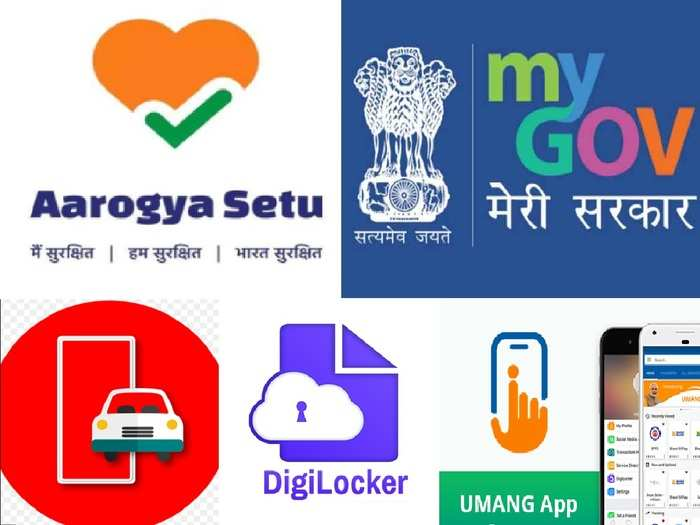 Most useful government apps In india