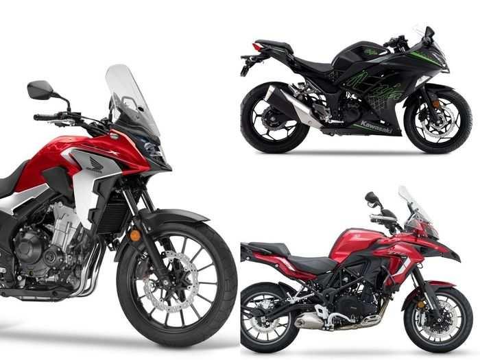 bs6 kawasaki ninja 300 to honda cb500x to benelli trk 502x bs6 three latest flagship motorcycles in march 2021