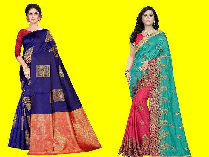 Saree : इन खूबसूरत कम्फर्टेबल Sarees को पहन कर आ लगेंगी और भी खूबसूरत