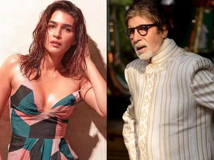 Kriti Sanon And Amitabh Bachchan