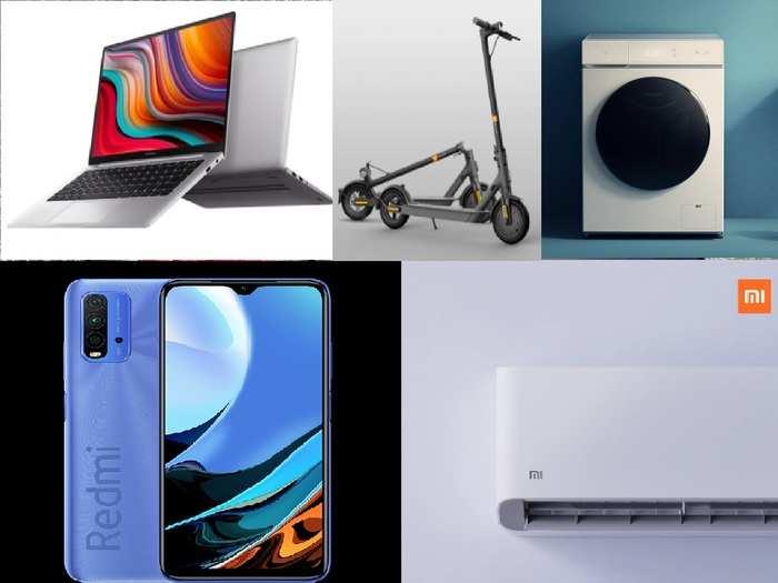 Xiaomi Mi Redmi Mijia Brand products india