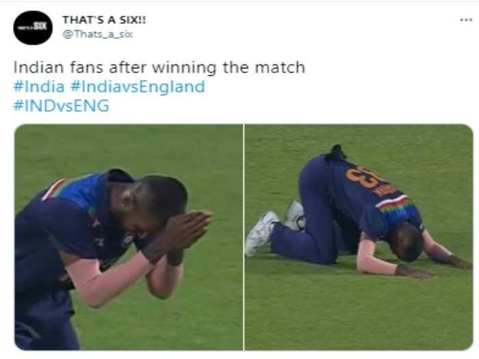 memes jokes viral after team india won in all three formats of cricket against england lord shardul thakur sam curran rishabh pant