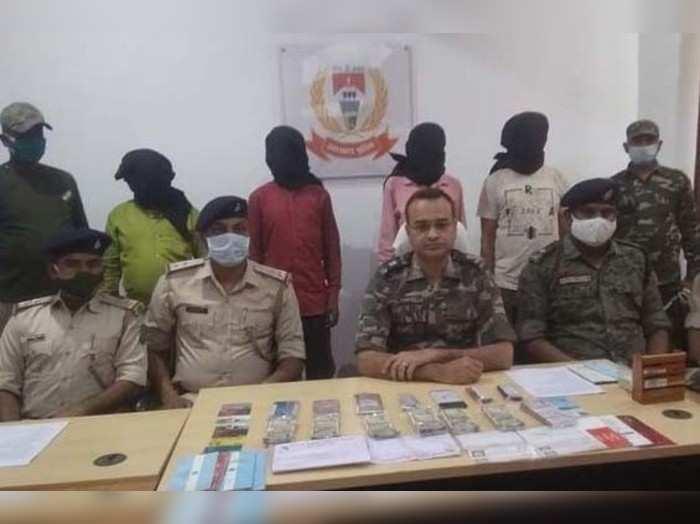 Jharkhand News: झारखंड पुलिस को बड़ी कामयाबी, अलग-अलग जगहों से छह नक्सली गिरफ्तार, रंगदारी में वसूले गये चार लाख भी बरामद