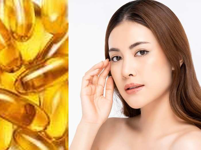 how to use vitamin e capsule on face for glowing skin in marathi