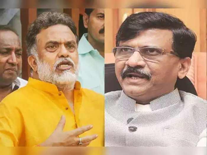 Sanjay Nirupam and Sanjay Raut