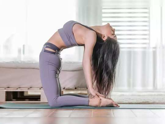 best yoga asanas to lose weight after pregnancy in marathi