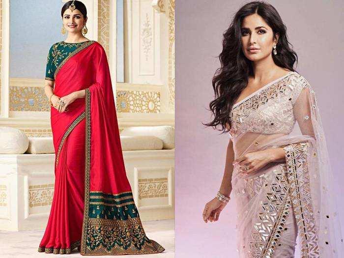 Bollywood Saree : बॉलीवुड अभिनेत्रियों जैसा साड़ी लुक पाने के लिए खरीदें ये Sarees