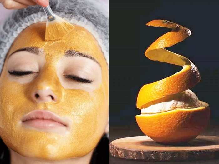 summer skin care routine how to make orange peel face pack at home in marathi