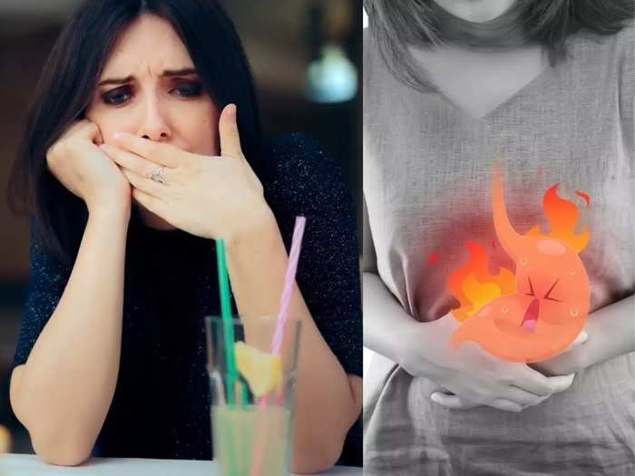 what are the causes and remedies for heartburn, indigestion, gas, sour burp in marathi