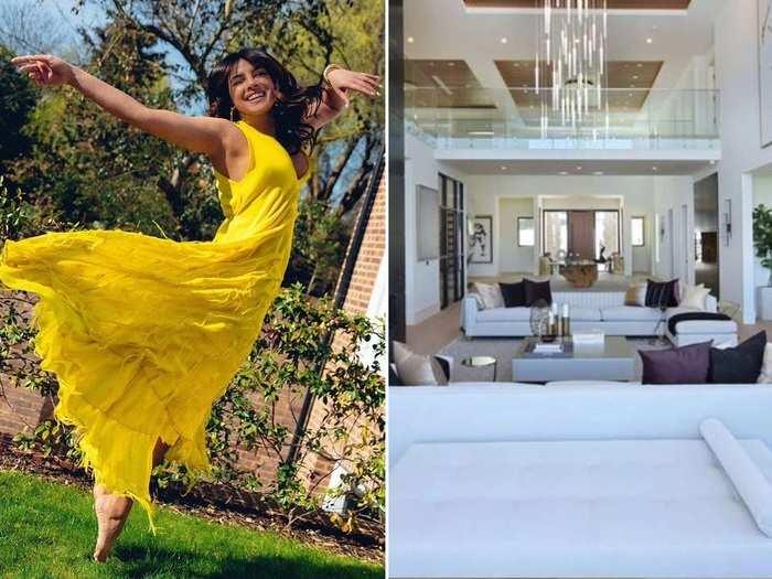 inside pictures of priyanka chopra nick jonas ultra luxury 144 crore mansion in los angeles