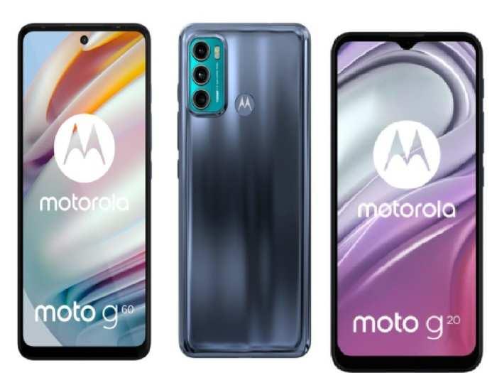 Motorola Moto G60 And Moto G20 India Launch Soon