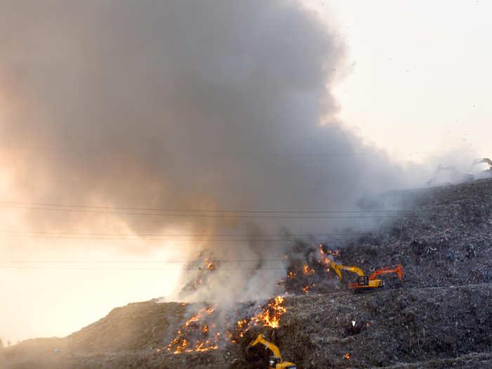 landfill-fire