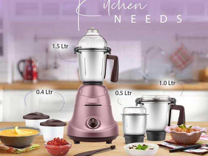Mixer Grinders : इन Mixer Grinders में घर पर तैयार करें खुशबूदार मसाले और बनाएं स्वादिष्ट व्यंजन
