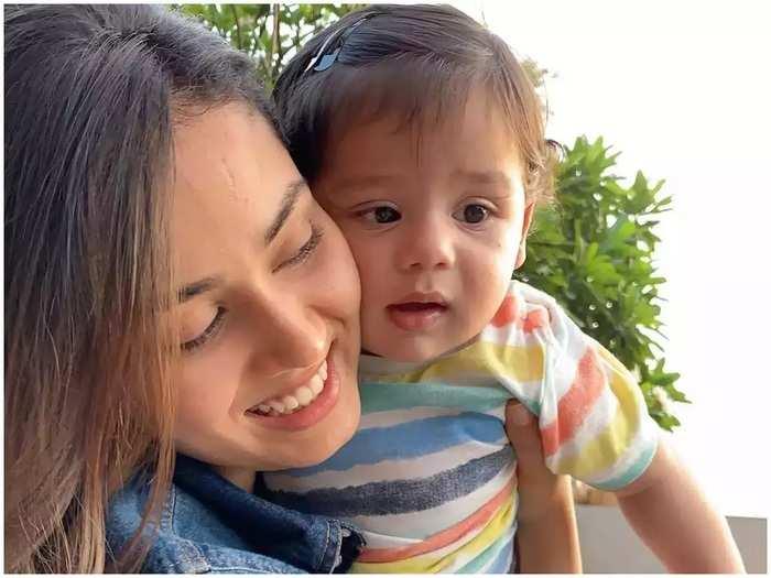 mira rajput shared post pregnancy skin care tips in marathi