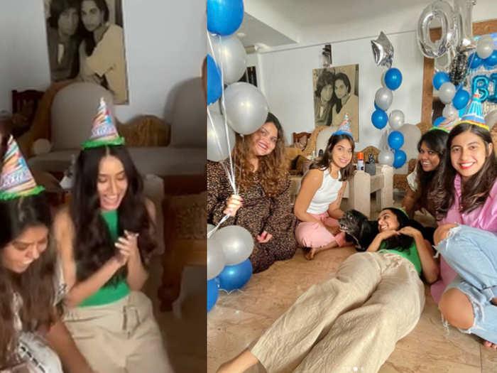 Shraddha Kapoor shared her babu shylon birthday video