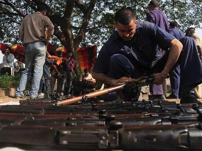.303 rifle File Photo