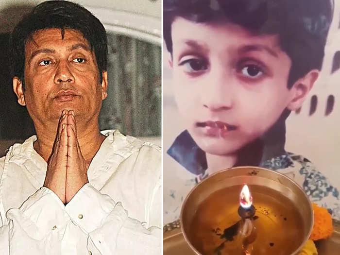 Shekhar Suman And His Late Son Aayush