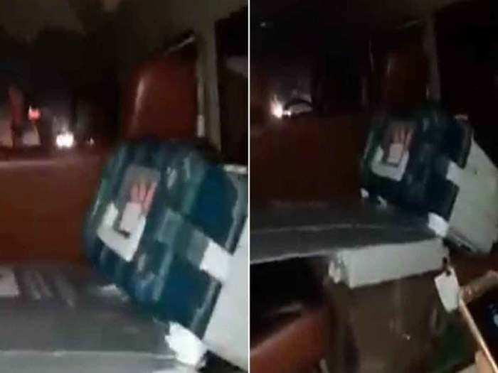 बीजेपी नेता की कार में मिली ईवीएम