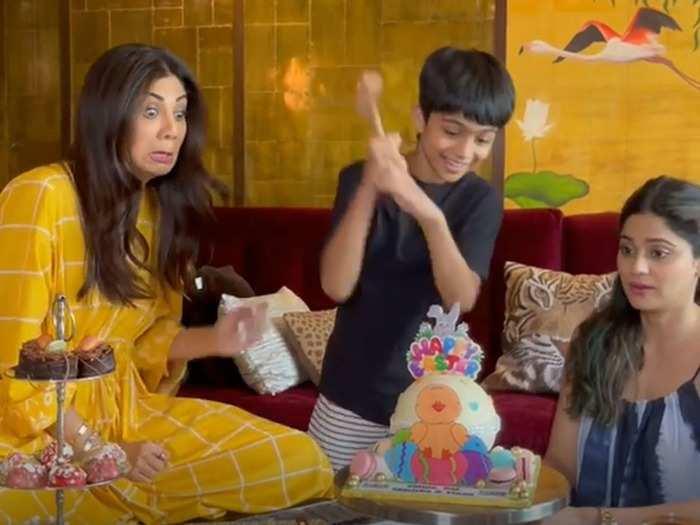 शिल्पा शेट्टी ने खास अंदाज में मनाया ईस्टर