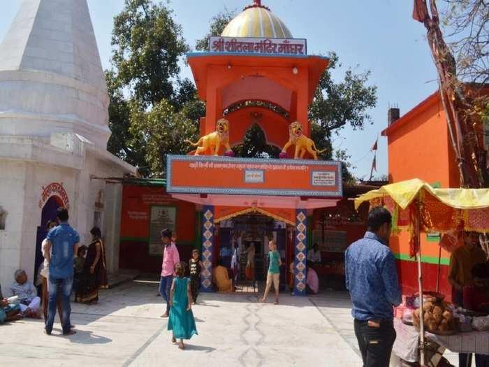 mata sheetla temple in nalanda