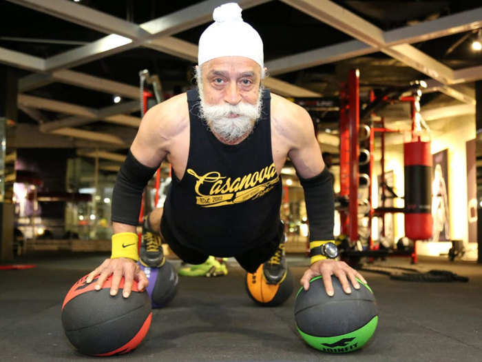 meet 77 year old tripat singh who beats youth in fitness