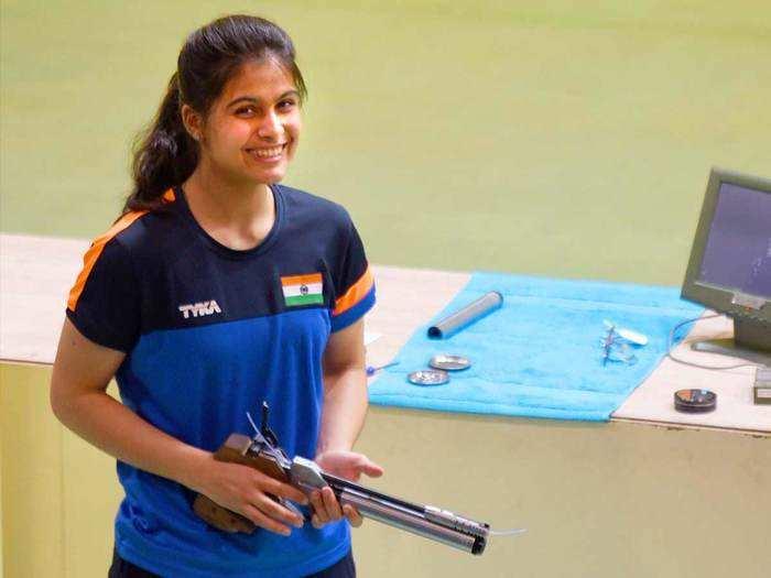 Indian shooting Team For Tokyo Olympics: मनु भाकर ओलिंपिक निशानेबाजी में तीन स्पर्धाओं में करेंगी देश का प्रतिनिधित्व, इलावेनिल भी टीम में