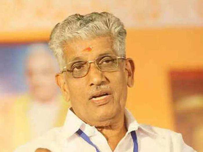 ജി സുകുമാരൻ നായർ. Photo: TOI