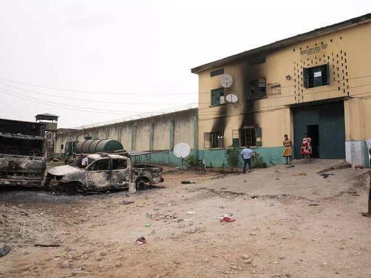 Nigeria jail break