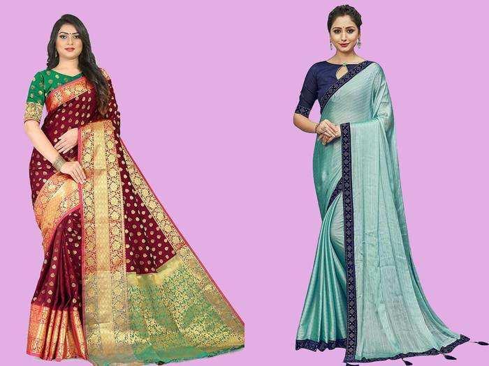 Saree : इन Saree For Women को पहन कर कर आप पार्टी में दिखेंगी सबसे खूबसूरत, सिर्फ 680 रुपए से शुरू है कीमत