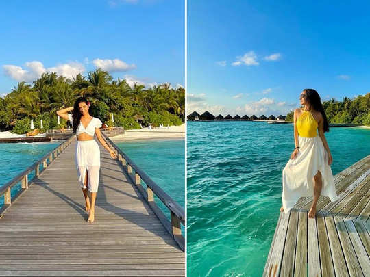 shraddha kapoor holidaying with rohan shrestha in maldives and shares gorgeous photos on instagram