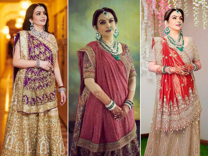 nita ambani looks drop dead gorgeous in these saree collection