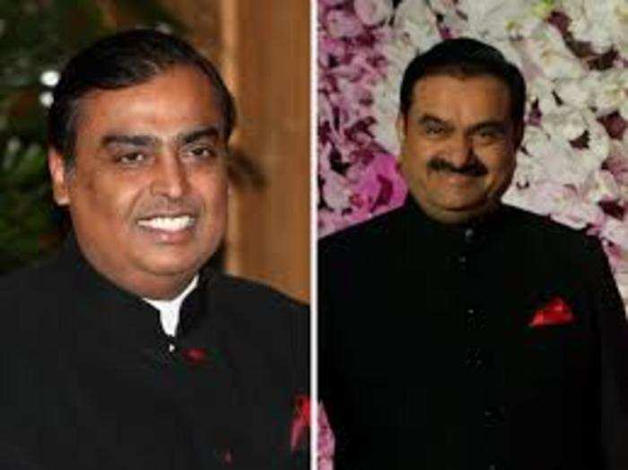 gautam adani is now only 4 place behind mukesh ambani know details here