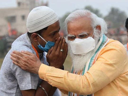 पंतप्रधान नरेंद्र मोदी आणि जुल्फिकार अली यांचा हा फोटो सोशल मीडियावर व्हायरल झाला होता