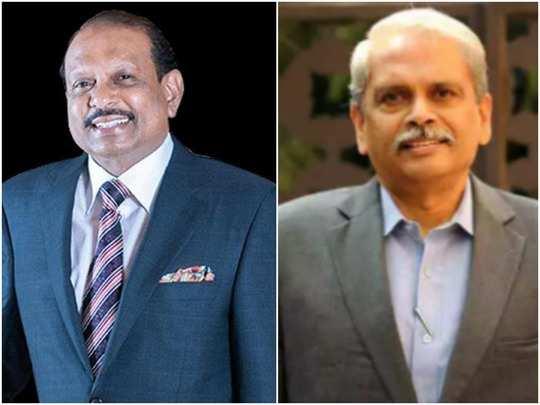 M.A Yusuff Ali and Kris Gopalakrishnan