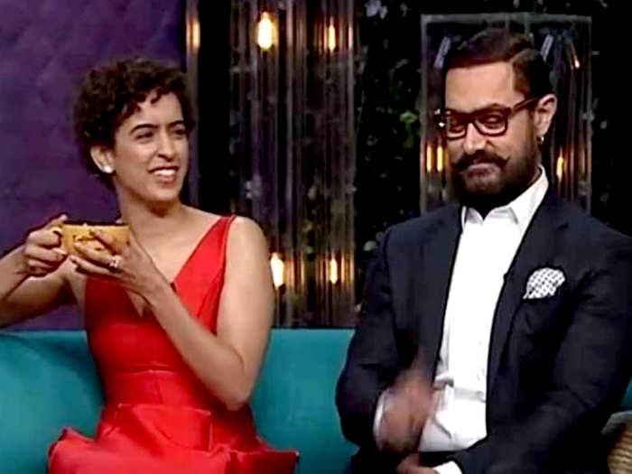 Sanya Malhotra And Aamir Khan