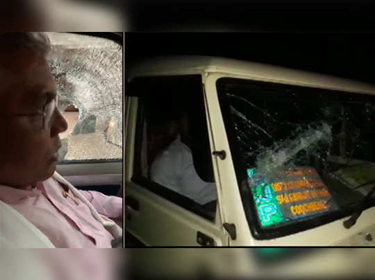 Dilip Ghosh says that his convoy was attacked in Sitalkuchi