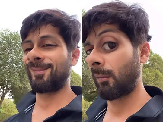 Shahid Kapoor shares a hilarious video
