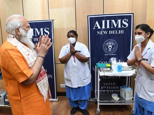 PM Modi Vaccination