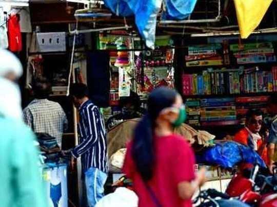 मुंबईतील २० टक्के व्यापारी देशोधडीला