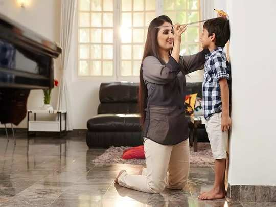reason of less growth in height in marathi
