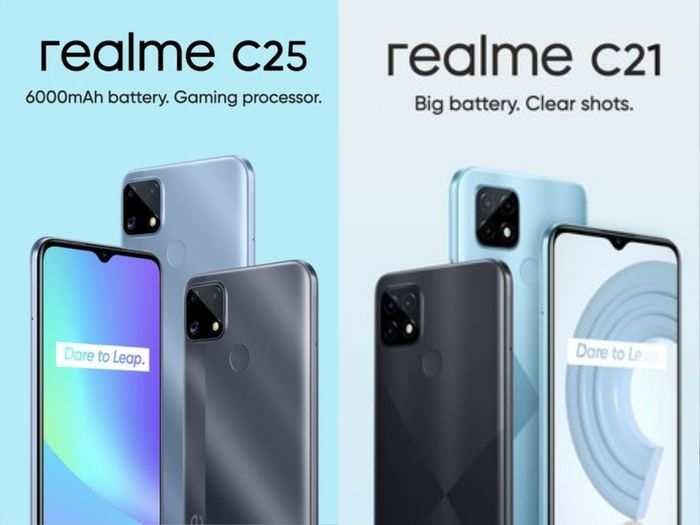 realme c25 c21